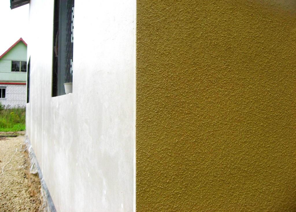 фактурная штукатурка для фасада дома